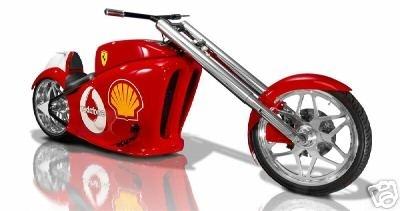 Ferrari en deux roues.