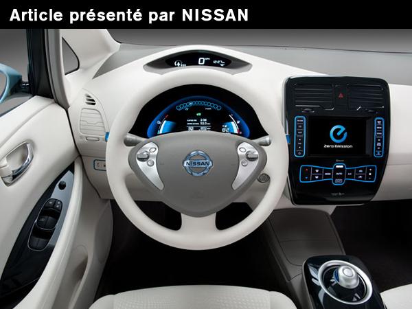 CARWINGS : La télématique embarquée de la LEAF [Rédigé par Nissan]