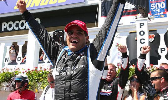 Juan-Pablo Montoya retrouve le chemin de la victoire en IndyCar!