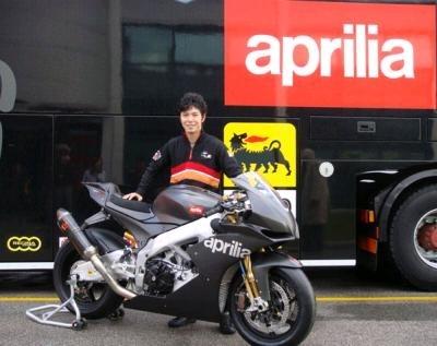 Superbike - Aprilia: Un duo Biaggi-Nakano officialisé