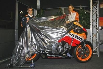 Moto GP : Présentation de la RC212V de 2007