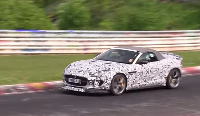 Surprise : la future Jaguar F-Type R-S à l'attaque sur le Ring