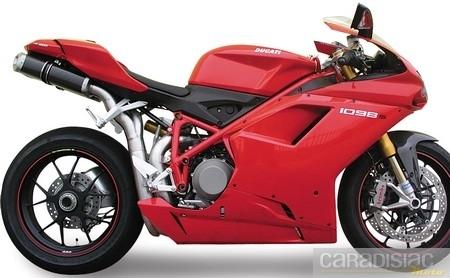 848, 1098, 1098S et 1198, les Ducati chantent en Spark.