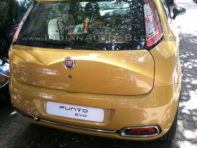 Voici le restylage de la Fiat Punto