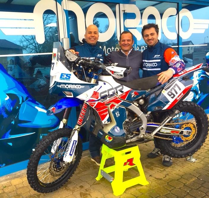 Team 2B- Moraco : objectif Dakar avec Julien Toniutti