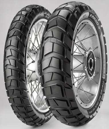Nouveauté 2013: Metzeler Karoo 3, le pneu enduro on/ off