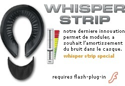 Shoei : Whisper Strip