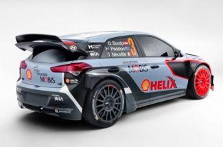 Hyundai présente une nouvelle i20 WRC
