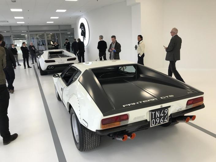 Voici le renouveau de la De Tomaso Pantera
