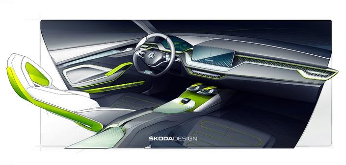 Salon de Genève 2018 - Skoda Vision X : concept de crossover urbain hybride