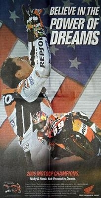 Moto GP: Honda fête son Champion aux States