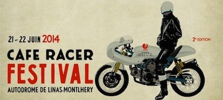 Ducati présent au Café Racer Festival 2014 à Montlhéry