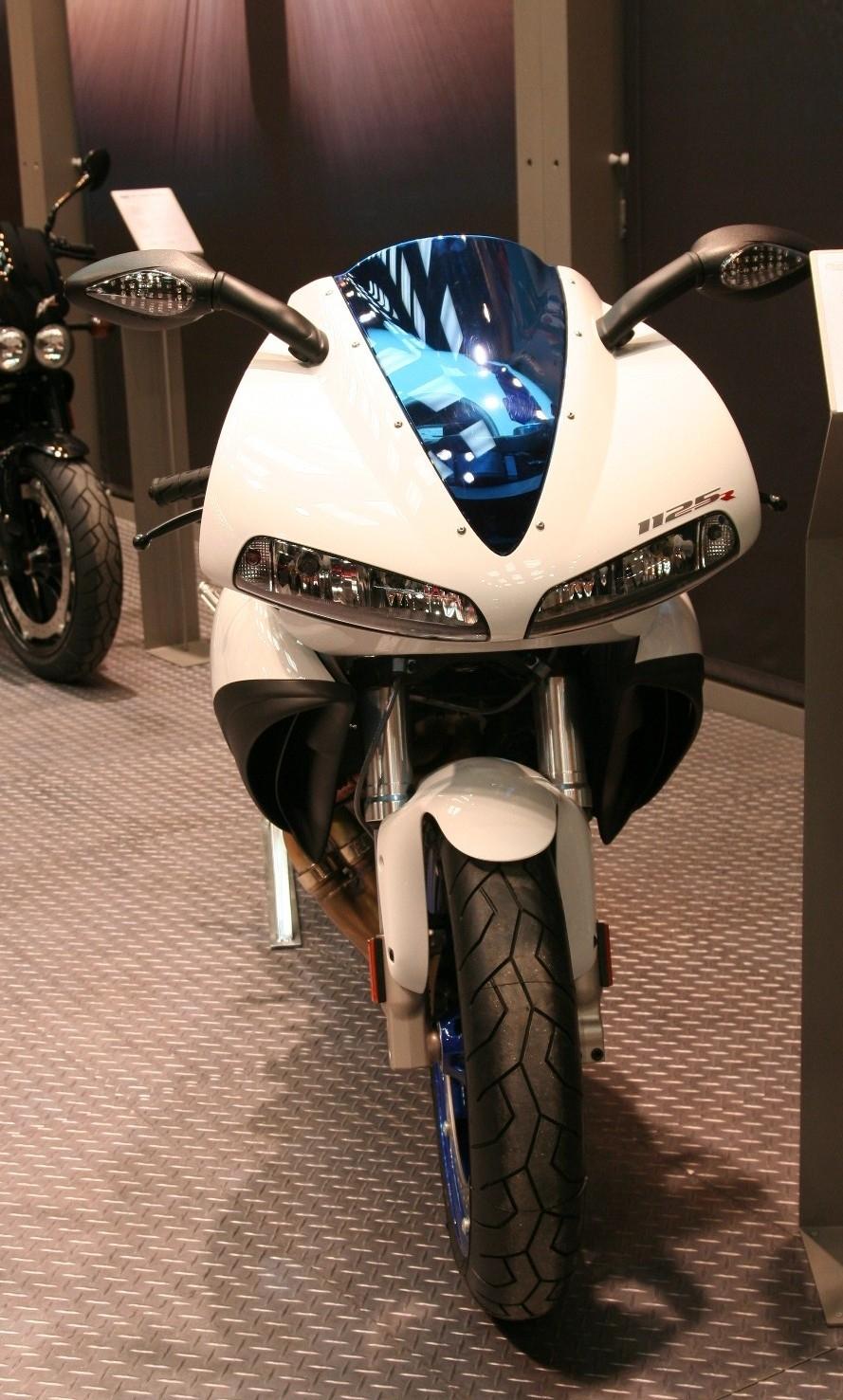 Salon de Milan 2008 en direct : Buell 1125CR et 1125R
