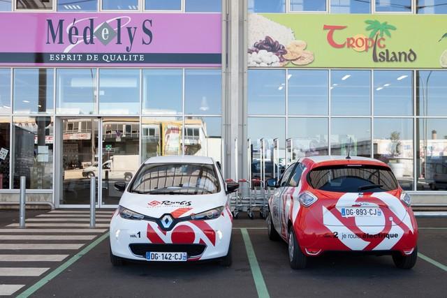La Renault Zoé arrive sur le Marché de Rungis