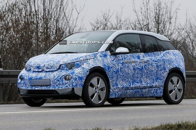Surprise : la BMW i3 de série se dévoile doucement