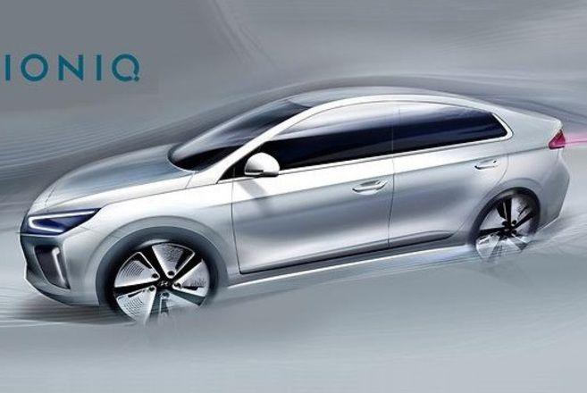 La Hyundai Ioniq revient en teaser