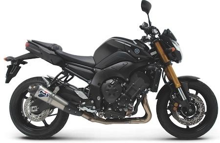 Termignoni, c'est aussi pour la Yamaha FZ8