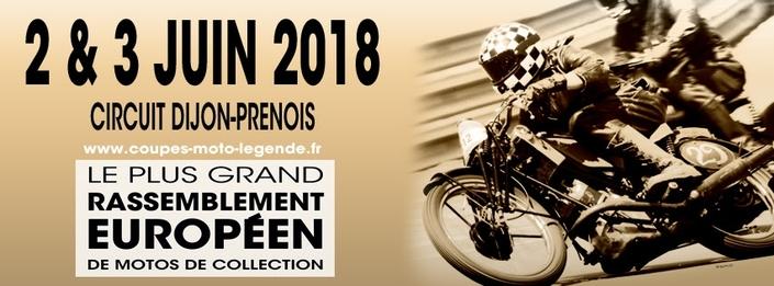 Coupes Moto Légende 2018: les inscriptions sont ouvertes.