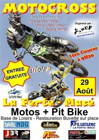 La Ferté-Macé (61) vous accueille pour son motocross annuel dimanche 29 août