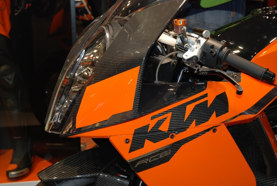 Salon de Milan 2008 en direct : KTM  RC8 R