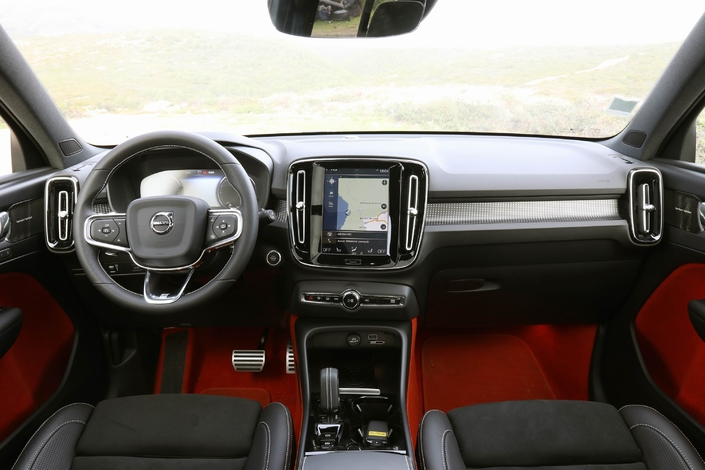 Le Volvo XC40 arrive en concession : Swede heart