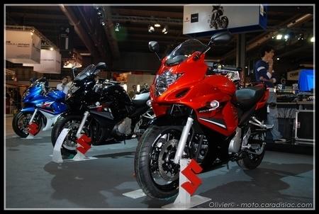 Salon de Milan 2008 en direct : Gladius, GSX-R 1000 et le reste des troupes…