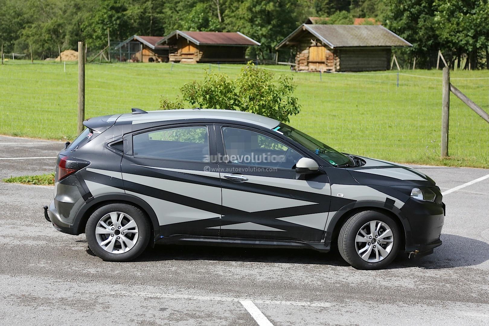 Surprise : le futur Honda Vezel / HR-V se laisse approcher