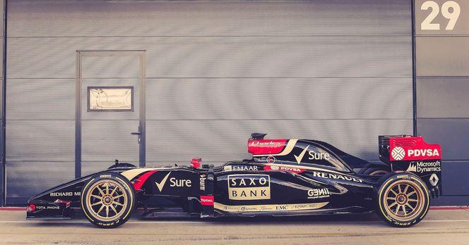 La F1 teste les jantes de 18''