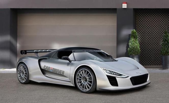 Audi Scorpion, future hypercar diesel électrique ?