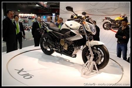 Salon de Milan 2008 en direct : Yamaha XJ6 2009
