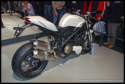 Salon de Milan 2008 en direct : Ducati 1098 Streetfighter - Born to kill !