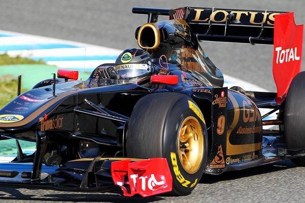 Essais F1 Jerez : Heidfeld, meilleur temps sur la Lotus Renault
