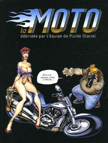 BD : La moto vue par Fluide Glacial.