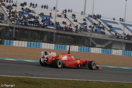 F1: Les temps de la dernière session d'essais à Jerez.
