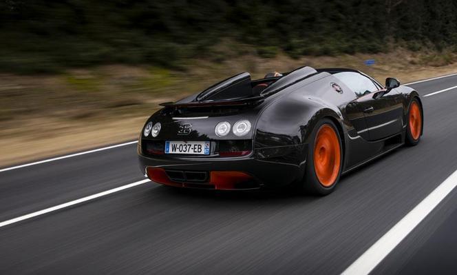 Bugatti annonce avoir battu le record de vitesse pour un cabriolet