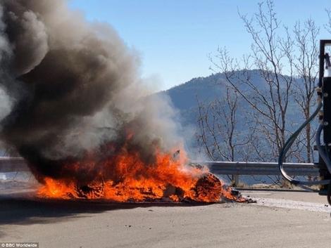 Top Gear : une Alpine A110 flambant neuve périt dans les flammes lors de son essai