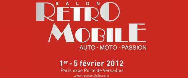 Coup d'envoi de Rétromobile 2012 : demandez le programme !