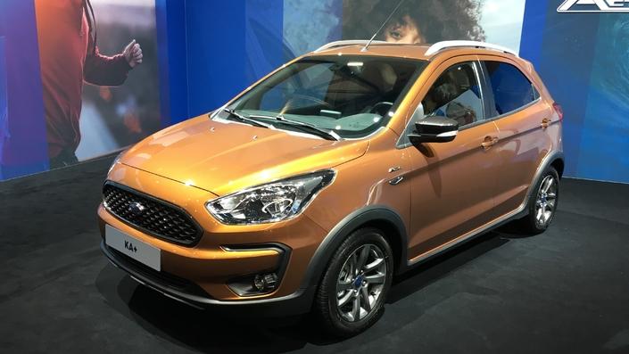 Ford Ka+ restylée: Ford s'active - Vidéo en direct du salon de Genève 2018