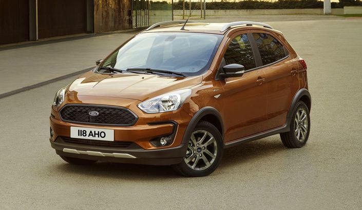 Un restylage et une version crossover — Ford Ka