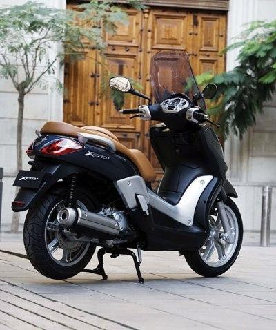 Nouveauté 2007 : Yamaha X-City 250