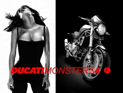 Moto & Sexy : Ducati vêtu de noir et blanc : partie 2