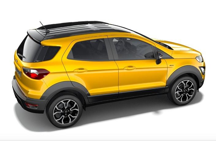 Ford EcoSport: nuova versione Active e fine del diesel