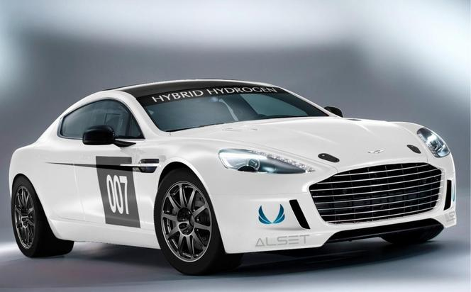 aston martin hybrid hydrogen rapide s. Black Bedroom Furniture Sets. Home Design Ideas