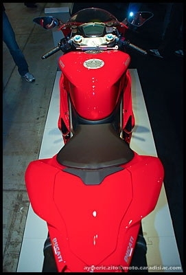 Salon de Milan 2008 en direct : Ducati 1098R, 1198 et 1198S