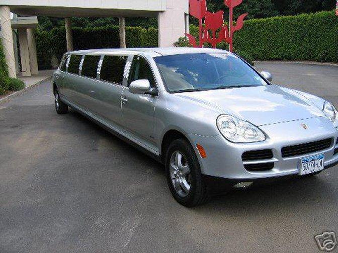 porsche cayenne limousine. Black Bedroom Furniture Sets. Home Design Ideas