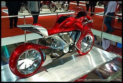 Salon de Milan 2008 en direct : Honda Proto V4