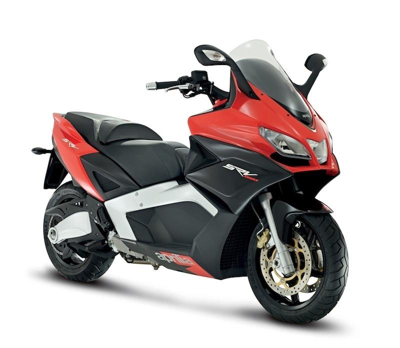 Nouveauté scooter 2012 : voilà l'Aprilia SRV 850 !