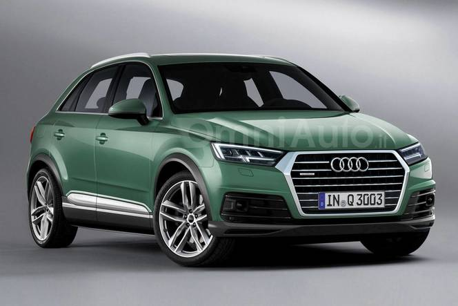 Futur suv audi q3 comme a for Audi q3 photos interieur