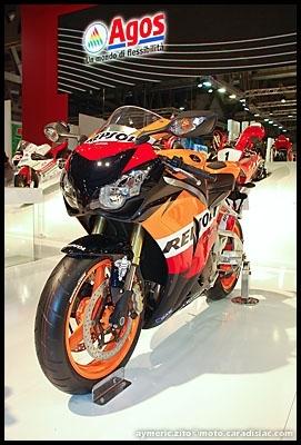 Salon de Milan 2008 en direct : Honda CBR 1000RR HRC & Repsol