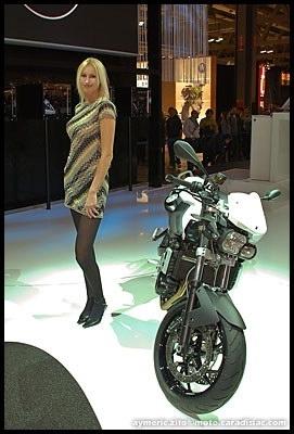 Salon de Milan 2008 en direct : BMW F800R - Le nouveau roadster polyvalent